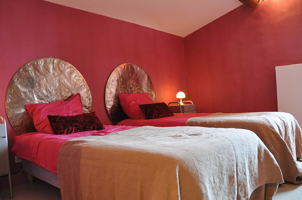 The 39 terre rouge 39 room le mas mouschetty luxury villa - Chambre a coucher cosy ...